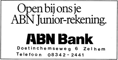 abn adv. junior rekening