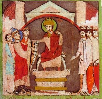 7 Karel de Grote geeft klooster